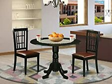 2 dining room chairs East West furniture