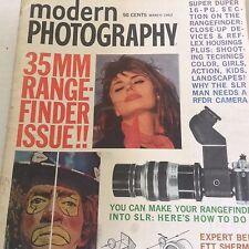 Modern Photography Magazine 35MM Rangefinder March 1962 071417nonrh