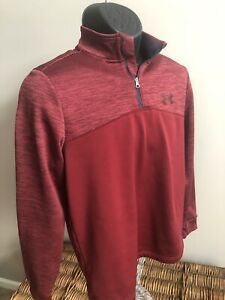 Under Armour Jacket Men's Small - 1/4 Zip Pullover - Cold Gear - Polyester