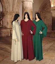 Chemise Robe for Wicca, Medieval, Ritual, Fantasy Handmade from Natural Cotton