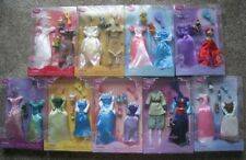 """Brand NEW sealed classic Lot Disney Store Princess clothes outfit dolls 12"""""""