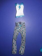 Monster High Doll Clothes Dead Tired Frankie Stein Outfit Pajamas Shirt Pants