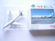 """Boeing B 747-200 """"MEA"""" Middle East Airlines/n203ae, HERPA #502627 1:500 en boîte"""
