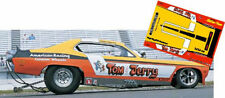 """CD_MM-110 """"Tom & Jerry"""" Duster Funny Car   1:18 Scale DECALS"""