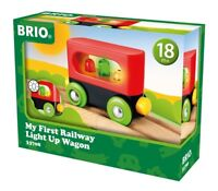 33708 Brio My First Railway Train Light up Wagon