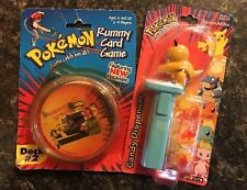 Vintage Pokemon Rummy Card Game and Candy Dispenser (1999)
