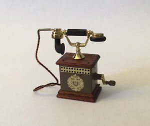 Dolls House Bodo Hennig Telephone