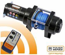 Power Series® 12 V Elektrische Seilwinde Motorwinde 1360 kg Kunststoffseil