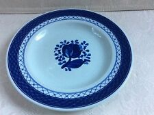 "Royal Copenhagen - ""Tranquebar-Blue&#03 4; - Bread & Butter - # 617- Fajance"