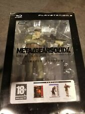 Coffret Collector Metal Gear Solid 4 limited edition Playstation 3