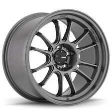 4-NEW Konig 47MG Hypergram 15x8.5 4x100  Matte Grey Wheels Rims