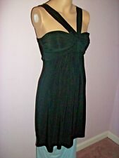 B. Smart Black Halter Cocktail Dress - Lightly Padded Bust- Size 3/4-Made in USA