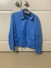 French Design Faconnable Blue Jacket Medium New No Tags Stylish!