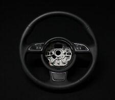 Audi A1 8X A6 A7 4G Sport Leder Lenkrad MFL Multifunktion Glattleder 4G0419091R