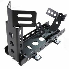 New Trailer only Model Motorcycle Wheel Stop Chock w/ Mounting Kit Adjustable