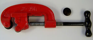 """2"""" inch TUBING / PIPE CUTTER #2 with Case All Metal Cut Brass Copper Steel New"""