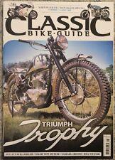 Classic Bike Guide Triumph Trophy Yamaha RD350 August 2015 FREE SHIPPING
