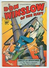 Don Winslow of the Navy #62 October 1948 VG