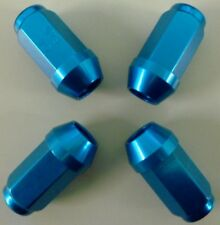 COMPETITION ALI WHEEL NUTS 12 x 1.5MM BLUE ROVER HONDA