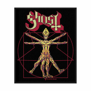 GHOST THE VITRUVIAN OFFICIAL LICENSED SEW ON PATCH HEAVY METAL BADGE DOOM NEW