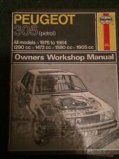 Practical car manuals: peugeot.