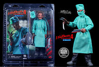 "NECA NIGHTMARE ON ELM STREET 4 - 8"" CLOTHED  FIGUR -  SURGEON FREDDY KRUEGER OVP"