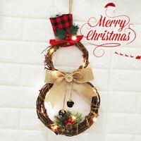 LED Ghirlanda Natalizia per Muro porta Corona Natalizia Casa Decorazione Natale
