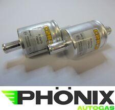 Autogas Filter 2x 14mm-14mm Gasfilter KME LPG