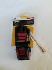 Century Women's Brave Open Palm Training Bag Gloves - Black/Pink SZ: S/M