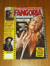 FANGORIA #75 PHANTASM 2 FRIDAY THE 13TH CHILDS PLAY HELLRAISER 2 WITH POSTER