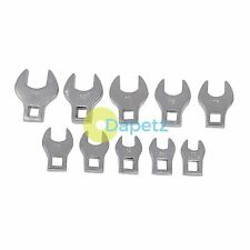 10Pce Crows Foot Spanner Set - 10 - 19mm Supplied In A Plastic Storage