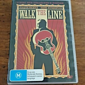 Walk the Line DVD 2-Disc Collector's Edition R4 VERY GOOD – FREE POST