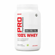 GNC Pro Performance® 100% Whey - Unflavored, 25 Servings