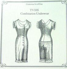 36b2927034ed Truly Victorian combination one piece underwear pattern TV105 NEW All Eras  uncut