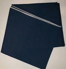 Covington Fabrics Pebbletex 100% Cotton 1.5 Yards Blue New