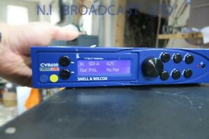 Snell Wilcox CVR600 multiformat 12bit standards converter, sync, ARC, noise red