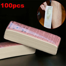 100PCS Depilatory Paper Waxing Strips Non-woven Hair Removal Tools Face Leg US