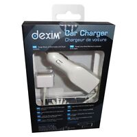 30 Pin Dexim DCA021 Car Charger for iPhone 4 4s 3G 3GS iPod Except iPod shuffle