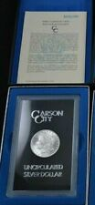 1882 CC Carson City GSA Morgan Silver Dollar Box/COA Uncirculated