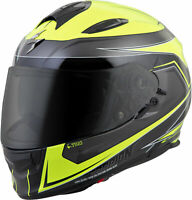 Scorpion Exo-T510 Full-Face Tarmac Helmet Neon Black
