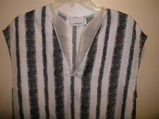 3.1 PHILLIP LIM Organza Trimmed Printed 100% Silk Tunic Top Size 2