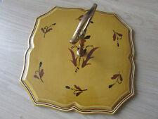 PLAT A FROMAGE Céramique Faiencerie de SALINS Vintage VERONIQUE