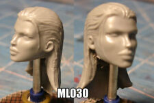 "ML030 Female Custom Sculpt Cast head use w/6"" Marvel Legends"