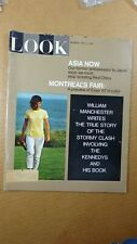 1967 APRIL 4 Look Magazine Asia/Montreal Expo World's Fair/The Kennedys