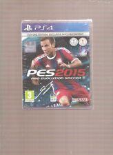 PES 2015  Pro Evolution Soccer !!! La Référence  sur PS 4. Jeu NEUF Blister