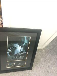 Harry Potter Half Blood Prince Signed Framed Picture