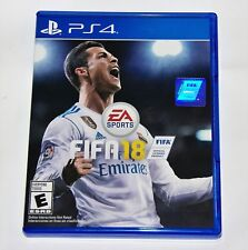 Replacement Case (NO GAME) Fifa 18  Fifa 2018 PlayStation 4 PS4 Box