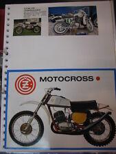 Clippings CZ / Jawa 250cc (jaren 70 / 80 GER)