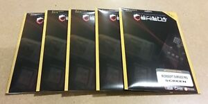 Lot of 5 InvisibleShield for Microsoft Surface Pro Screen Protector