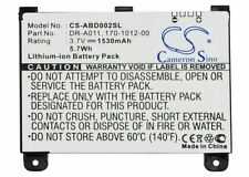 Amazon Kindle 2 II Replacement battery 1530mAh ABD002SL